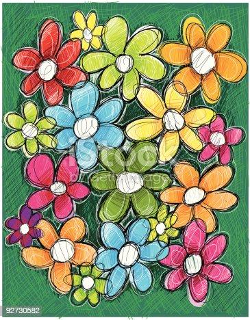istock Hippy Flowers 92730582