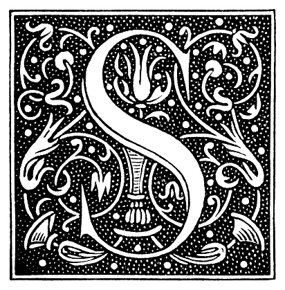 Historiated Initial Letter S