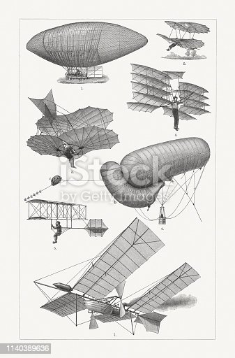 Historic flying machines: 1) Air ship