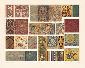 istock Historical fabrics (antiquity to the 19th century), chromolithograph, published 1897 1138687528
