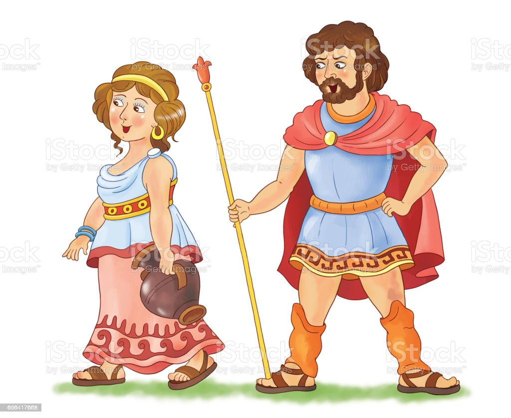 History Of Family Fashion A Man And Woman In Ancient Greece