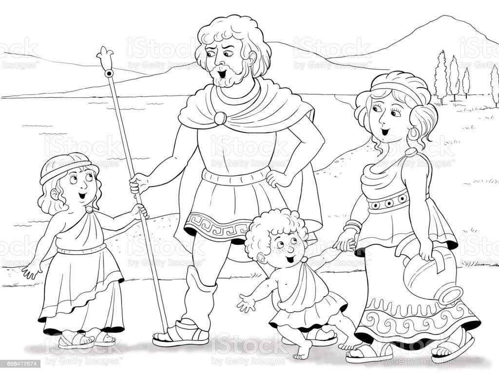 Ilustración De Historia De La Familia Historia De La Moda