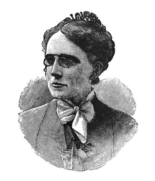 History of the United States - Famous Women - Frances Willard - Educator - From Daughters of America 1882 women's suffrage stock illustrations