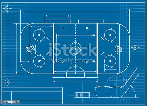 istock Hockey Blueprint 167588327
