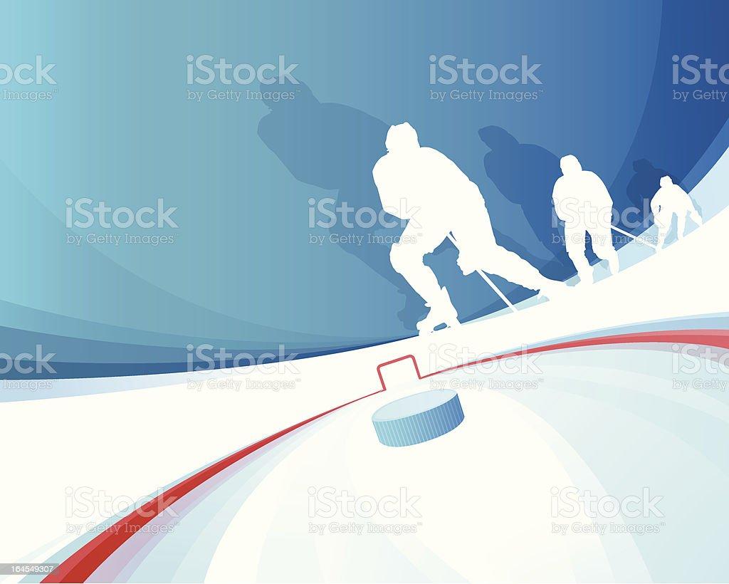 Hockey Players royalty-free stock vector art