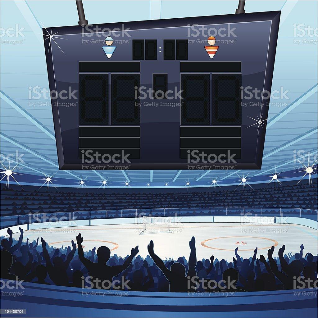 Hockey Stadium – Vektorgrafik