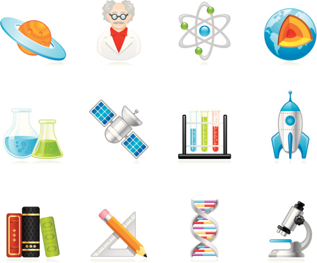 Hola icons - Science