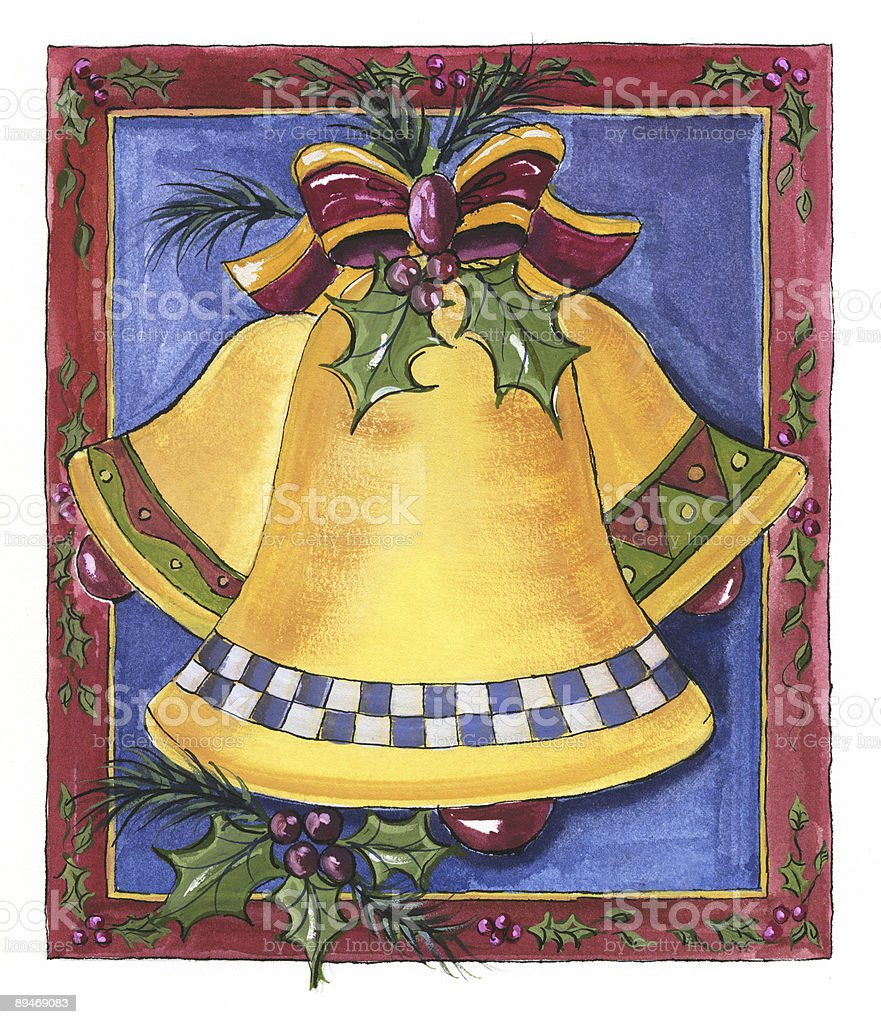 Holiday Bells royalty-free holiday bells stok vektör sanatı & bayram - etkinlik'nin daha fazla görseli