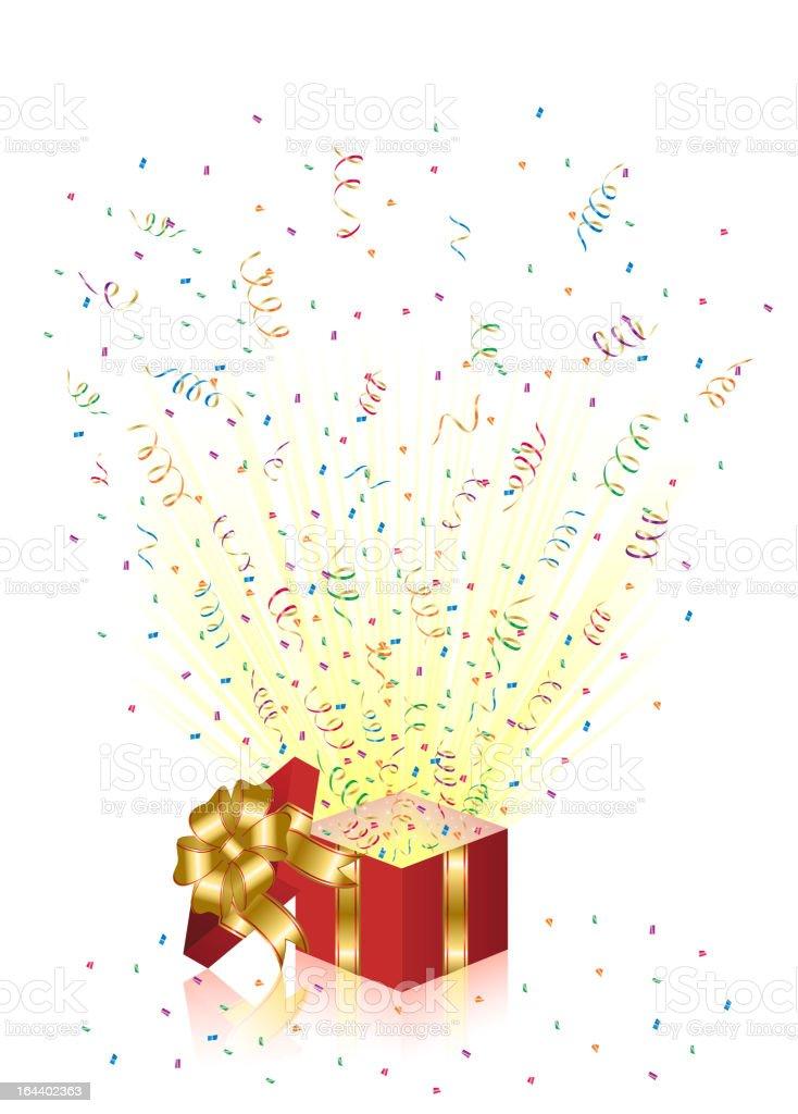 Holiday Present royalty-free stock vector art