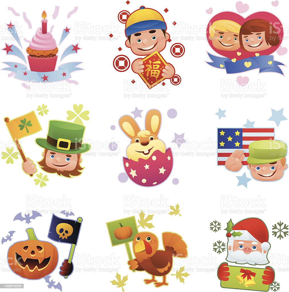 holidays icons royalty-free holidays icons stock vector art & more images of adult