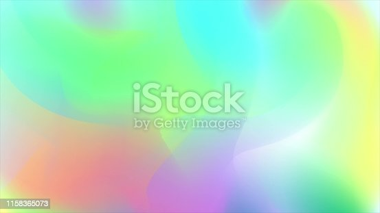 Holographic trend 80s colorful abstract fluid background