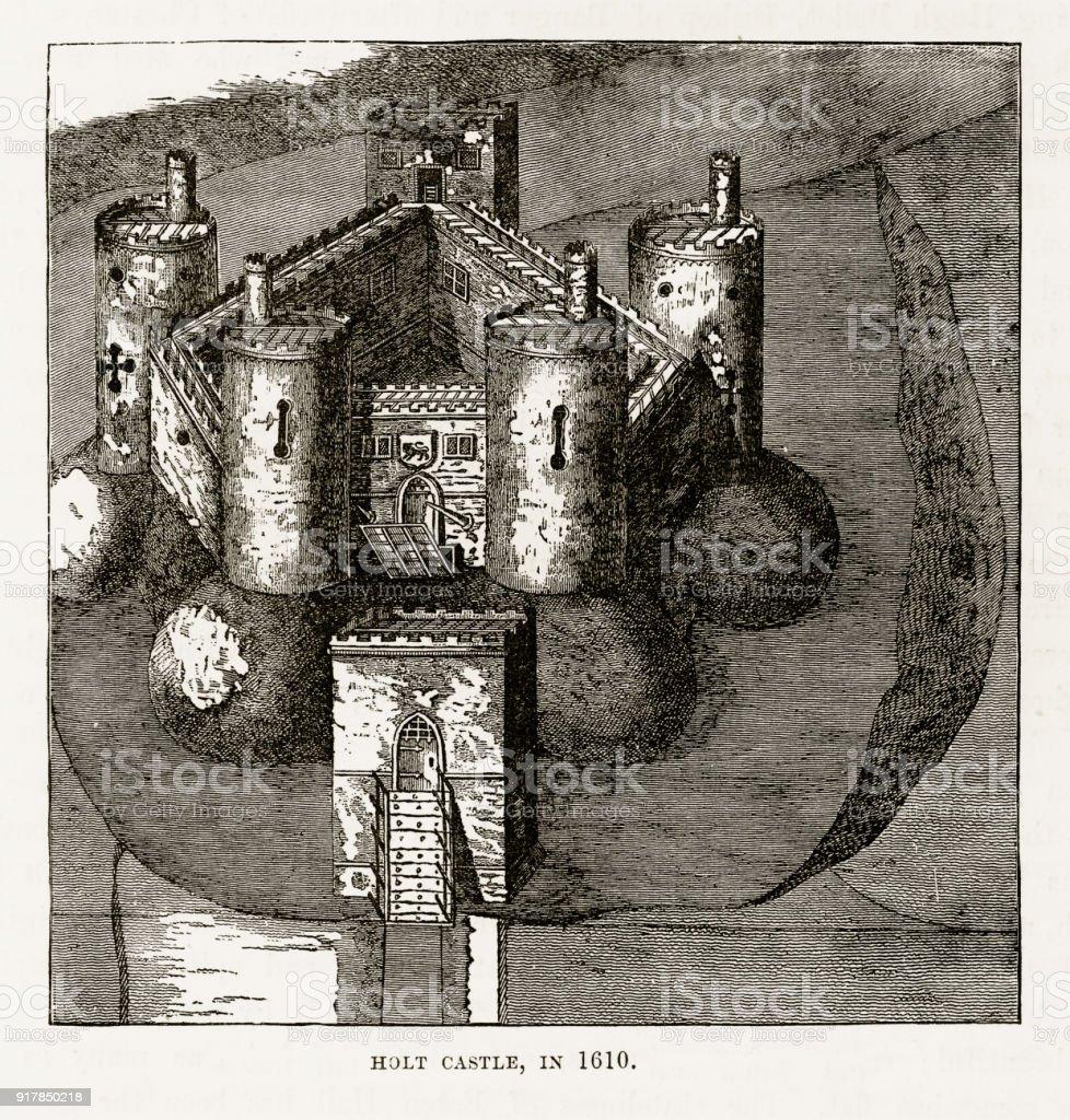 1610 年ホルトにホルト城ウェー...