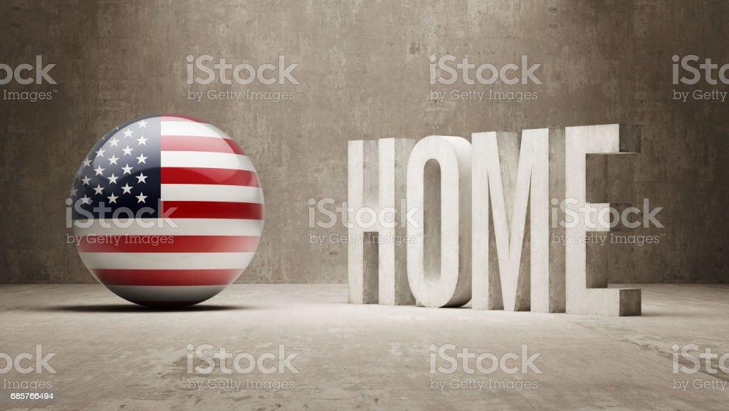 Home Concept vector art illustration