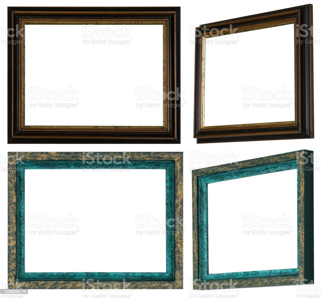Homemade And Handpainted Picture Frames Stock Vector Art & More ...