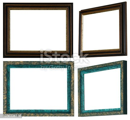 Homemade And Handpainted Picture Frames Stock Vector Art More