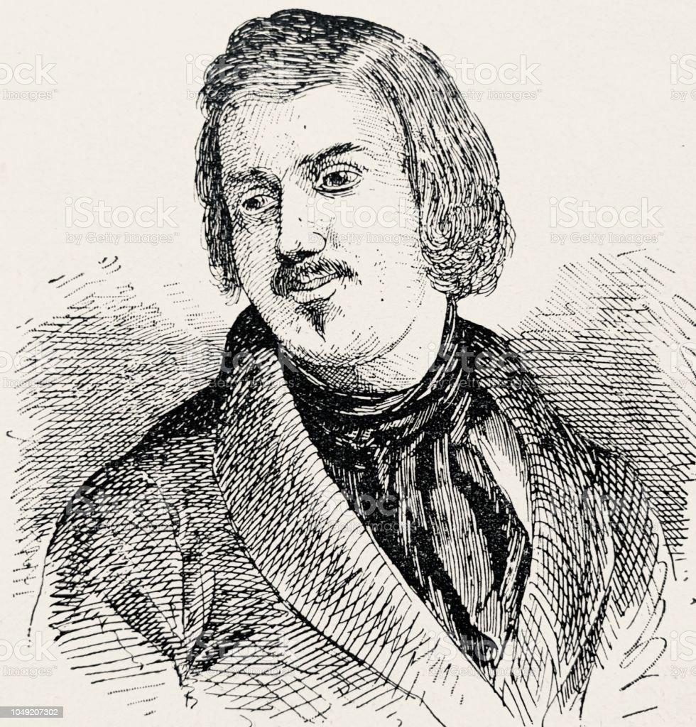 Honoré de balzac french writer 1799 1850 royalty free honoré de balzac
