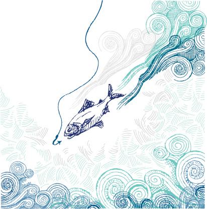 Hook, line and sinker doodle