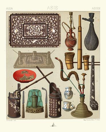 Hookah tobacco pipe, Water pipes, Bongs, Indian, Persian, Javan