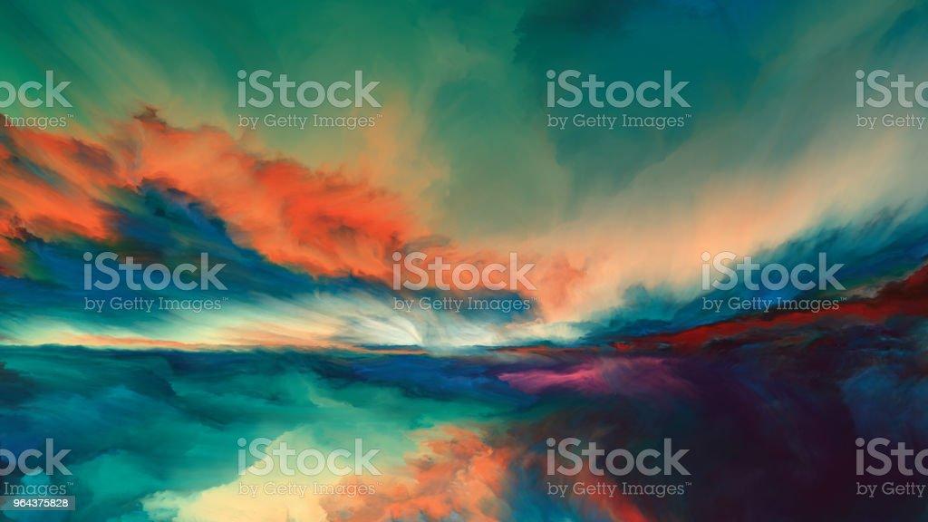 Horizon Paint vector art illustration