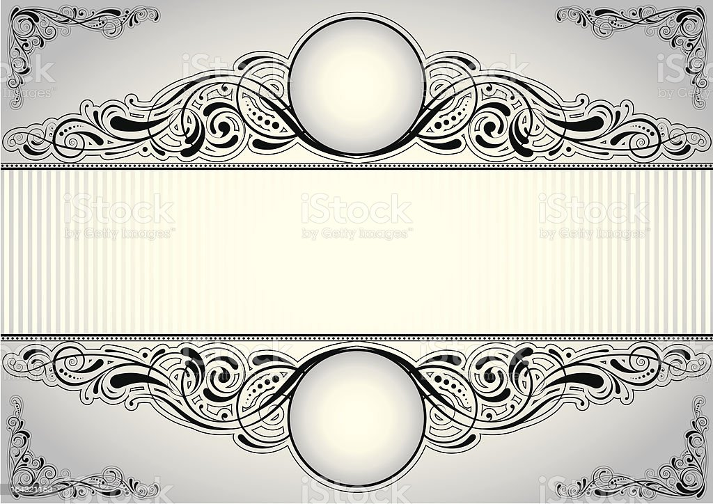 Horizontal background design royalty-free stock vector art