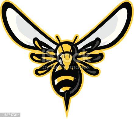 istock Hornet mascot 165747014