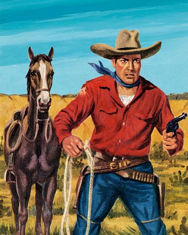 Horse and a Cowboy