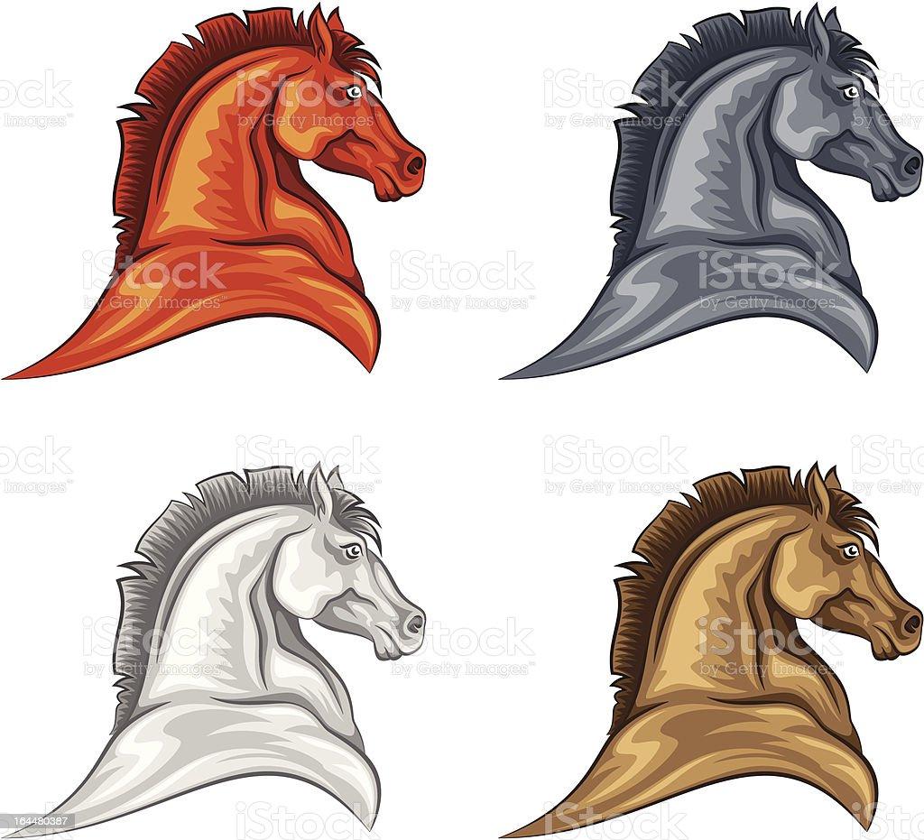 Horse head royalty-free stock vector art