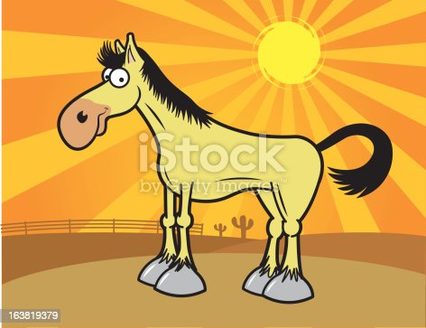 istock Horse in the Afternoon 163819379
