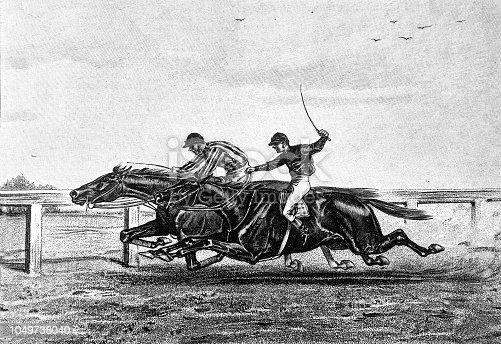 Horse racing - 1888
