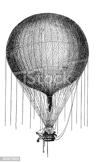 Phoenix hot air balloon made for Association for the Promotion of Aeronautics