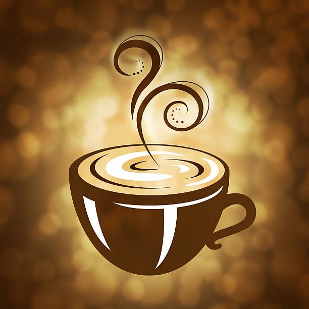 Hot Coffee Illustration vector art illustration