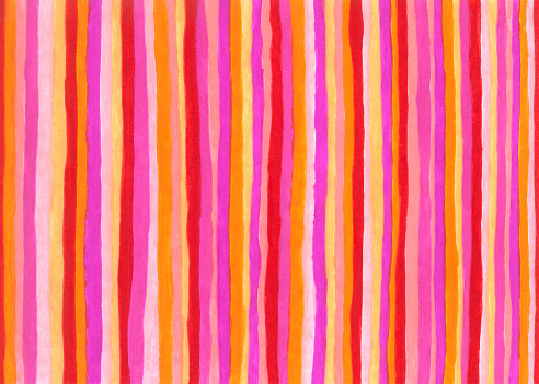 Hot colors striped background