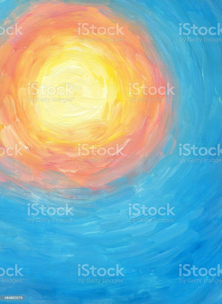 Warmen Sonne – Vektorgrafik