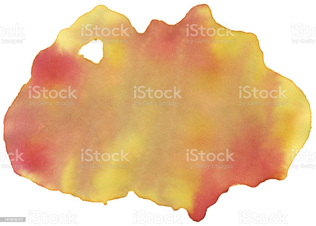 Hot Water Color Paint Stock Texture royalty-free stock vector art