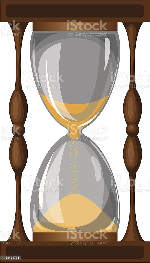 hourglass royalty-free hourglass stock vector art & more images of activity