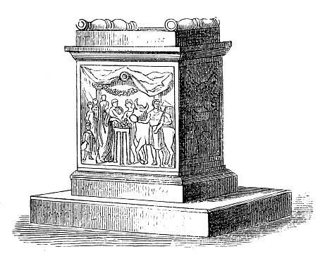 House altar of Quirinus is an early god of the Roman state