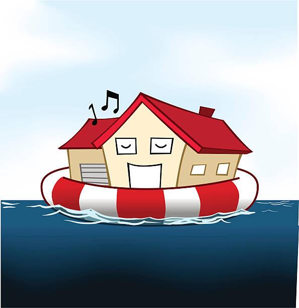 Cámara de seguro - ilustración de arte vectorial