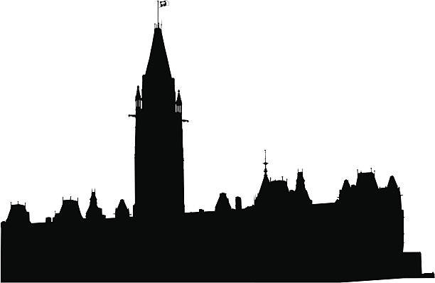 stockillustraties, clipart, cartoons en iconen met house of parliament canada - sociale geschiedenis