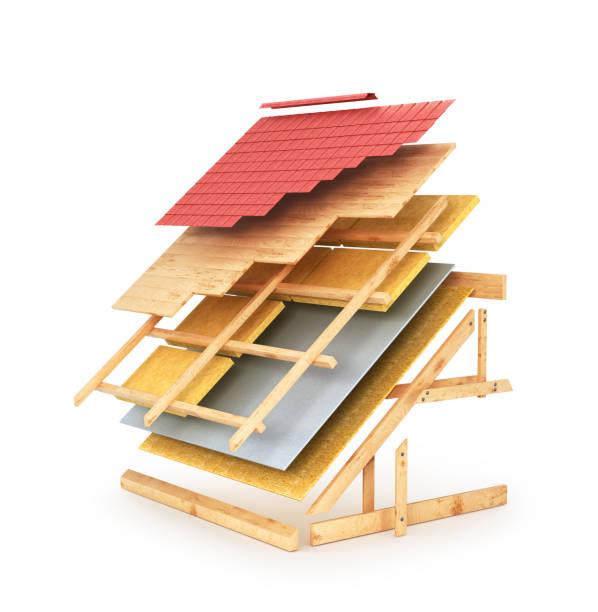 Best Roof Repair Illustrations Royalty Free Vector