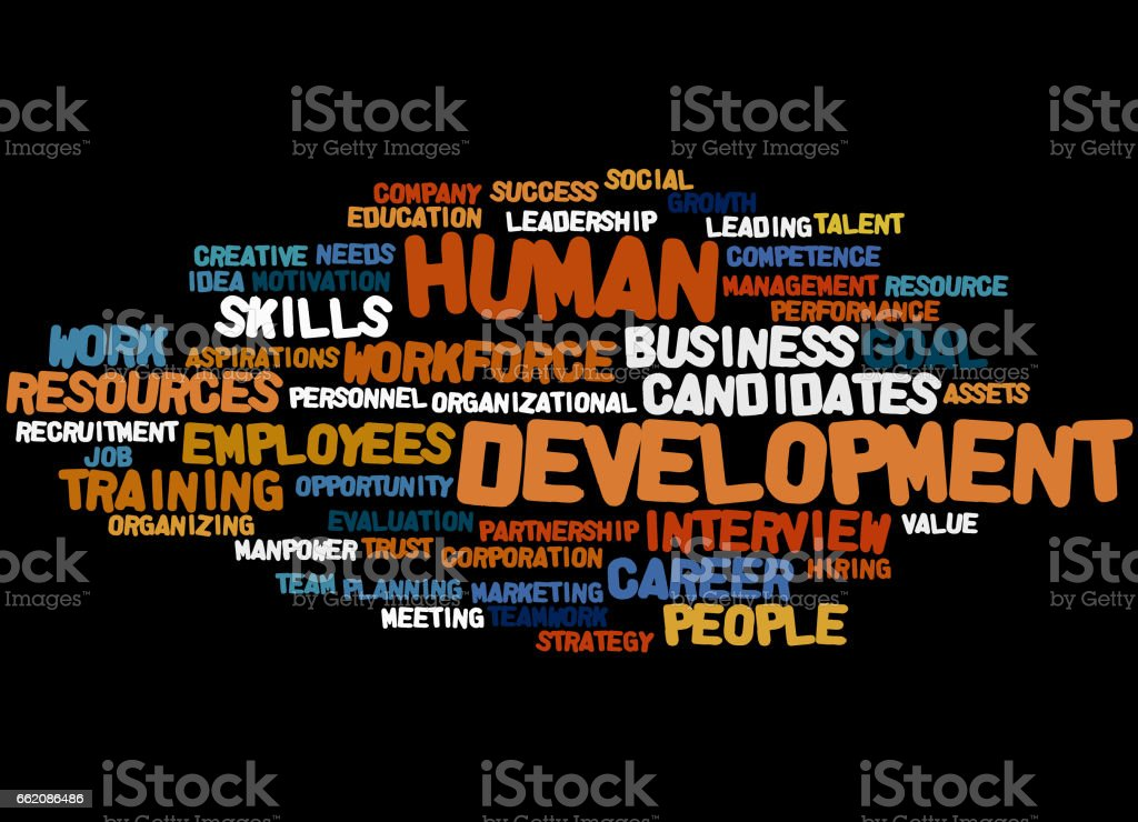 Human Development, word cloud concept 9 royalty-free human development word cloud concept 9 stock vector art & more images of business