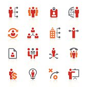 human resource management icons | alto series
