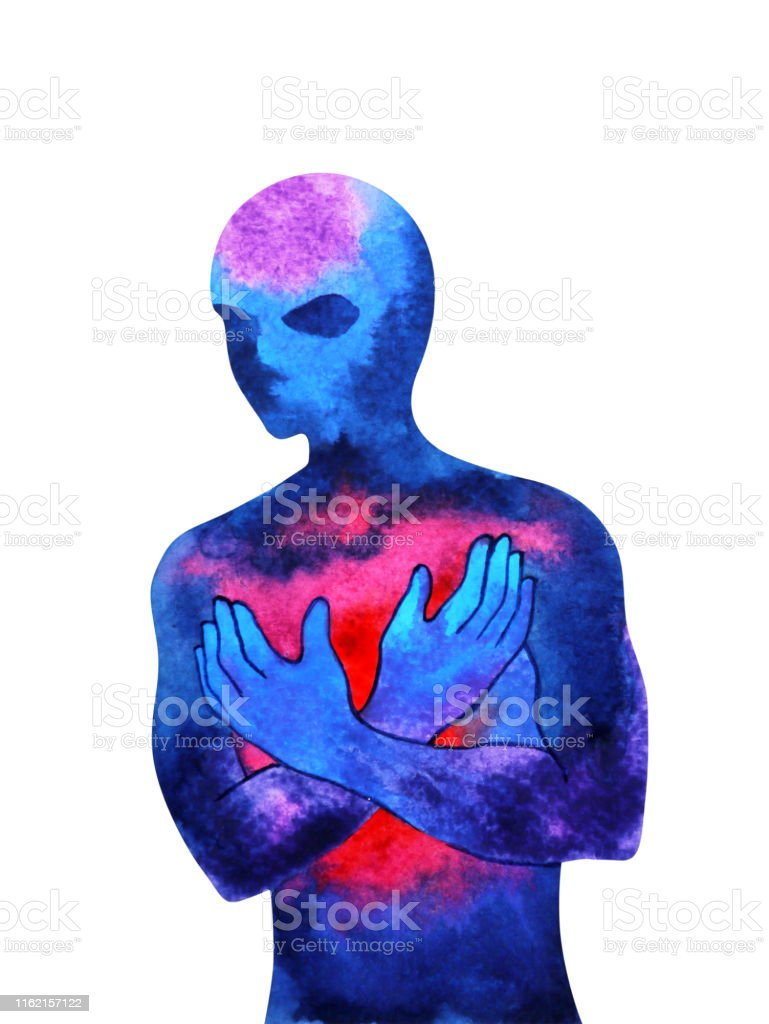 Human Spiritual Power Energy Love Mind Abstract Art