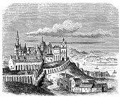 istock Hungary, Budapest, Buda castle, late 16th century, exterior view 892848664