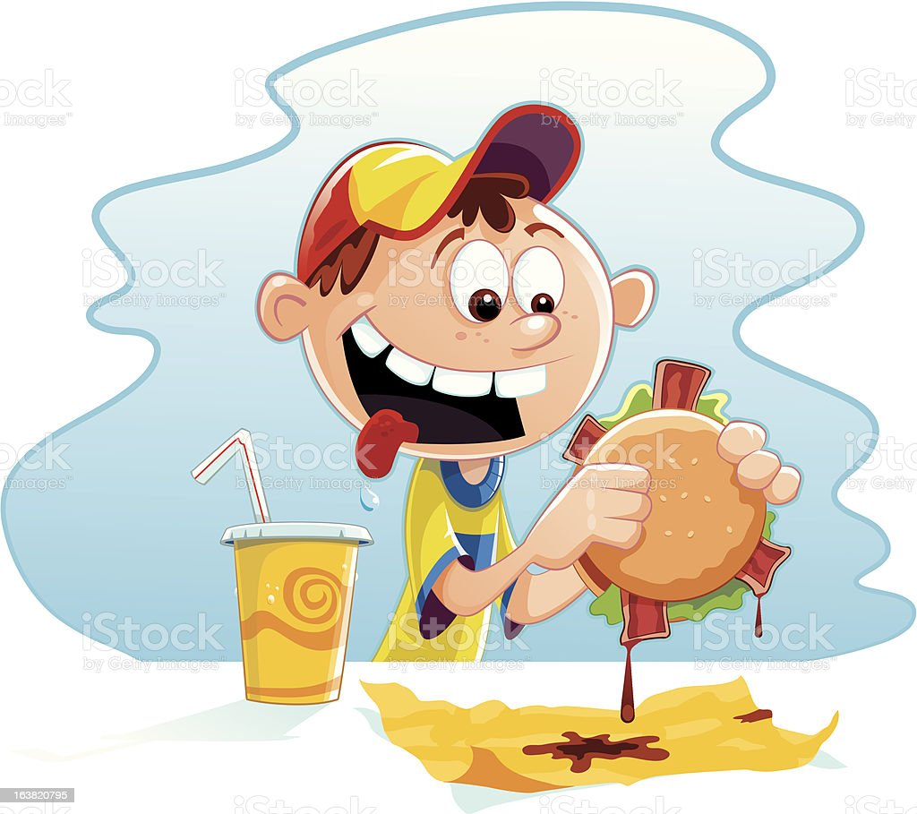 List of Synonyms and Antonyms of the Word: hungry boy clip art