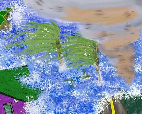 Hurricane Stock Illustration - Download Image Now