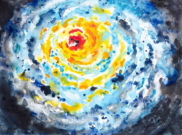 Hurricane Storm System vector art illustration