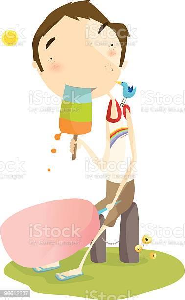 Ice Cream-vektorgrafik och fler bilder på Barn