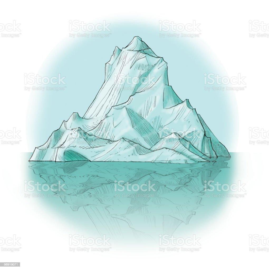 Iceberg watercolor royalty-free iceberg watercolor stock vector art & more images of antarctic ocean
