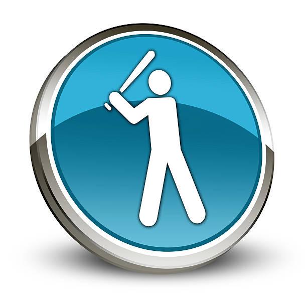Icon, Button, Pictogram Baseball vector art illustration
