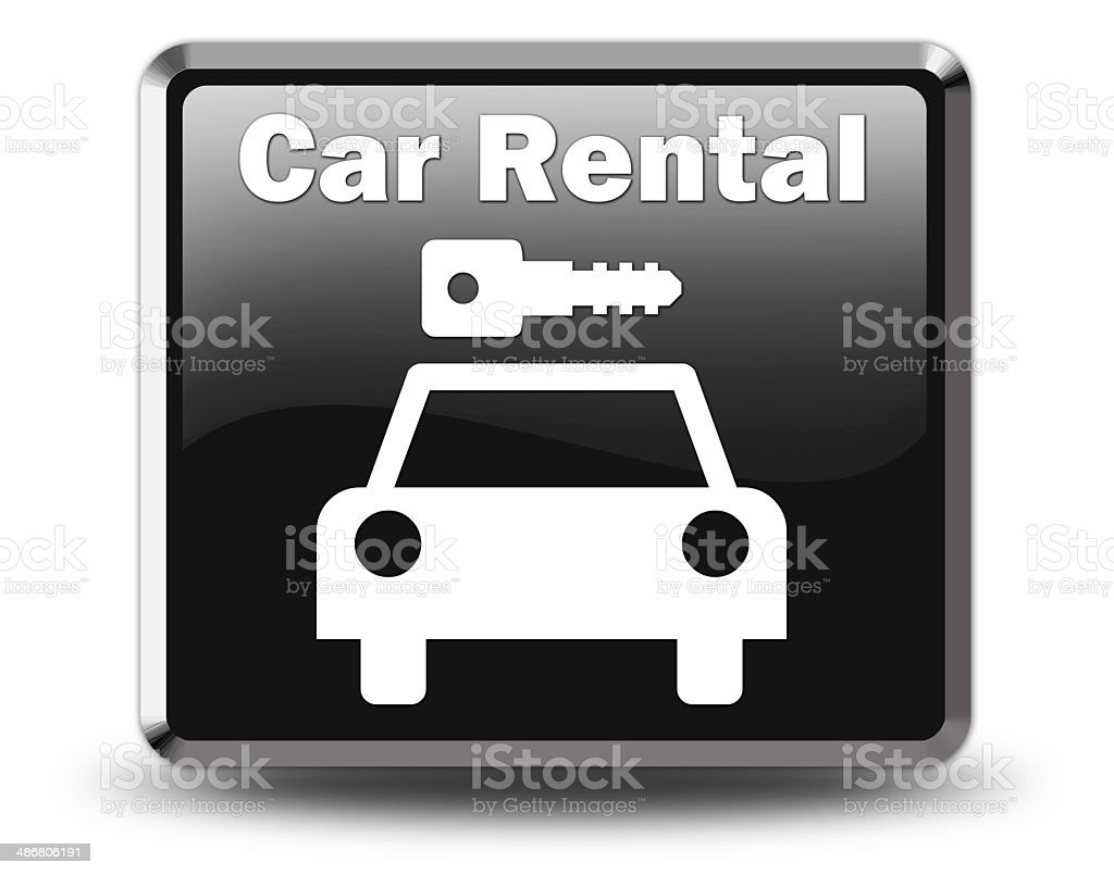 Icon, Button, Pictogram Car Rental royalty-free icon button pictogram car rental stock vector art & more images of car